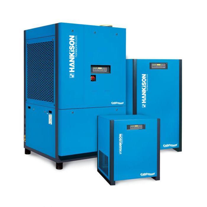 Druckluft Kältetrockner HANKISON - Serie HHDp - 16 bar - 380-10800 m³/h