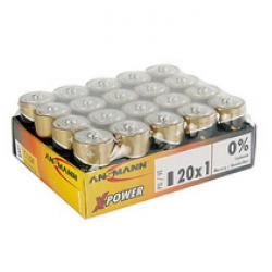 "Alkaliska batterier - baby C - ""X-Power"" - 20-pack"
