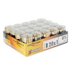 "Alkaliska batterier - mono D - ""X-Power"" - 20-pack"