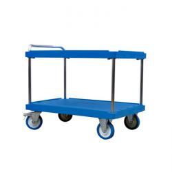 Table trolley - 2 floors - 1,000 kg - suitable to -20° C