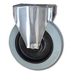 Hjul - fälg plast - hjulbana gummi - kullager - till 350 kg