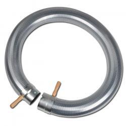 Abgasschlauch - Stahl verzinkt - Innen-Ø 85 bis 102 mm - Außen-Ø 87 bis 104 mm - Preis per Stück