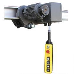 Laufkatze - elektrisch - Flanschbreite 50-99mm - 400V/50Hz