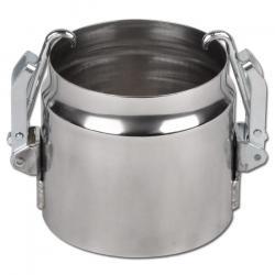 Schnellverbindung WE80S für Metallsaugschläuche - Edelstahl - DN 100 bis 300 - bis +600 °C