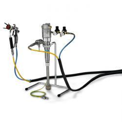 Wagner 22-18S AC Spraypack stanąć całkowicie - z pompą tłoka pneumatycznego
