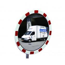 Verkehrsspiegel - Polycarbonat - rund - 60 cm