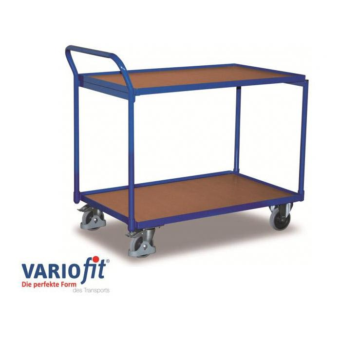 "Table trolley ""VARIOFIT"" 2 and 3 platforms - also with EasySTOP® central brake"