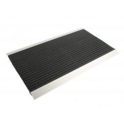 Dörrmatta - aluminium - brandsäker - 22 mm tjock - valbara mått