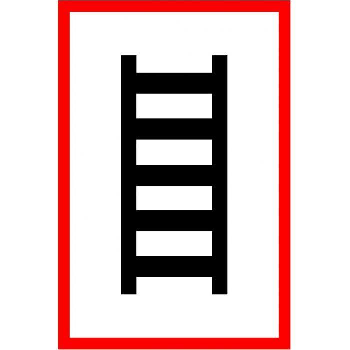 """Brandschutz - """"Symbol Leiter"""""""