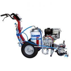 """Straßenmarkierungsgerät """"Excalibur Liner"""" - Behälter Kunststoff 50l - Benzinmotor 7 PS - max. Druck 210 bar - Maße 1400 x 1600 x 1050 mm"""