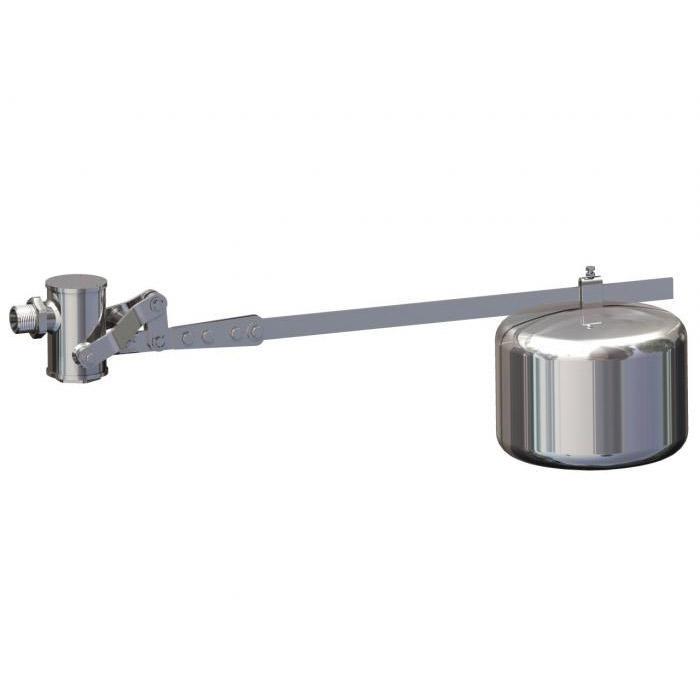 Schwimmerventil - Typ ESV 50 G/G - Edelstahl - für große und mittelgroße Behälter - Berluto - ohne Schwimmer
