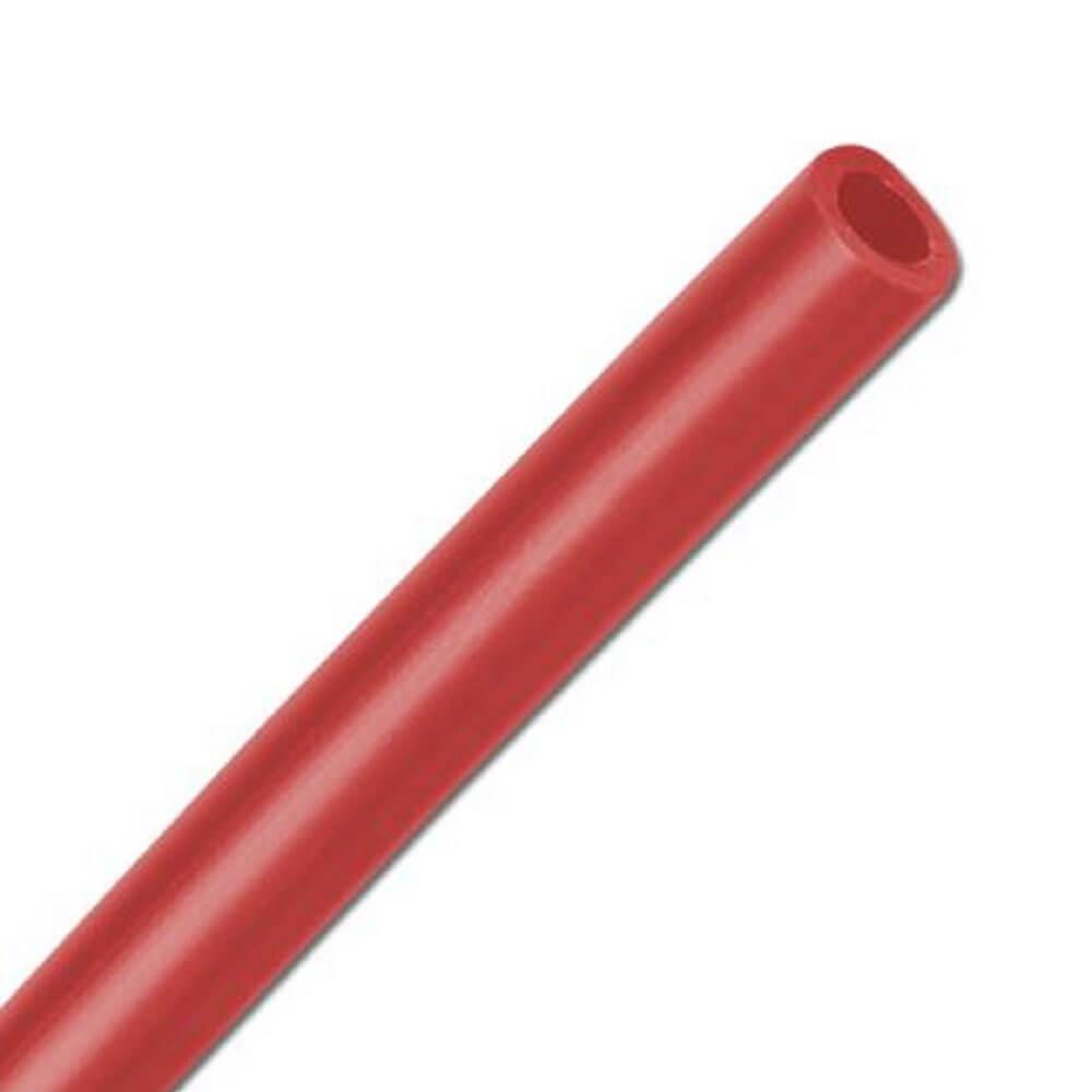 Polyethylen-Schlauch - säurebeständig - rot - Schlauch-Ø außen x innen  4 x2 bis 11,6 x 9 mm - Preis per Meter und Rolle