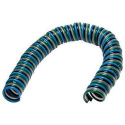 Polyurethane multiple-spiral hose - Quattro (4-fold) - working length 2,5 / 5 m