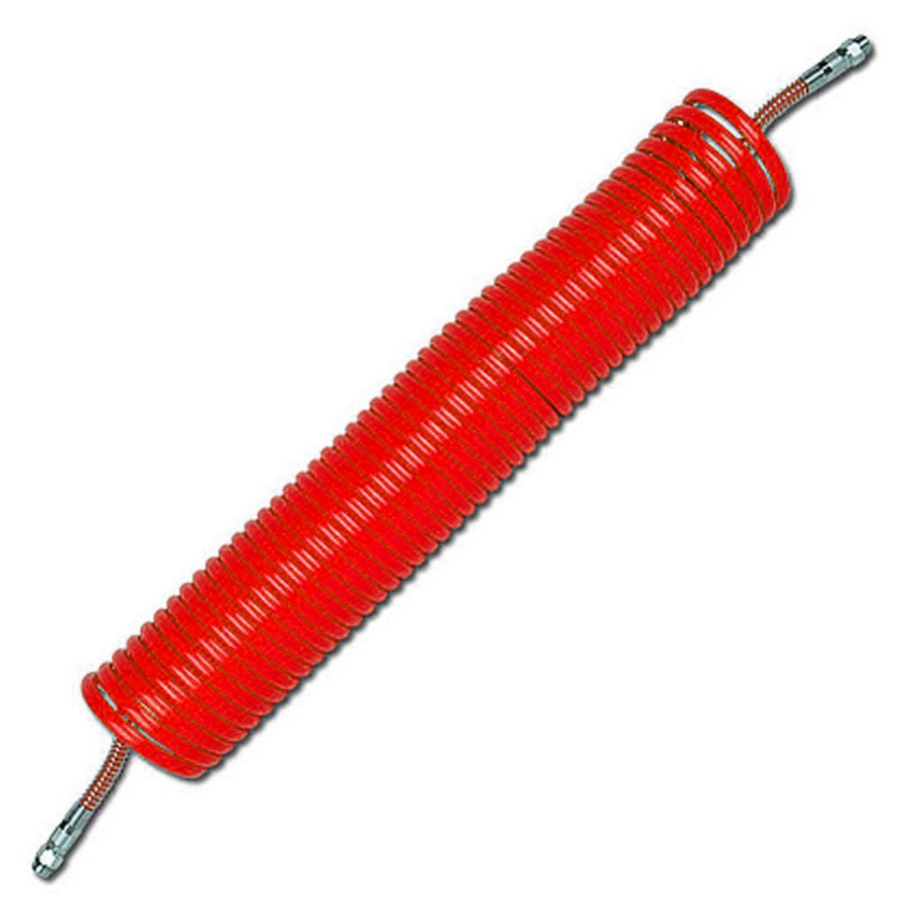 Spiralslang - Vridbar gänganslutning - PA - Knäckskyddsfjäder
