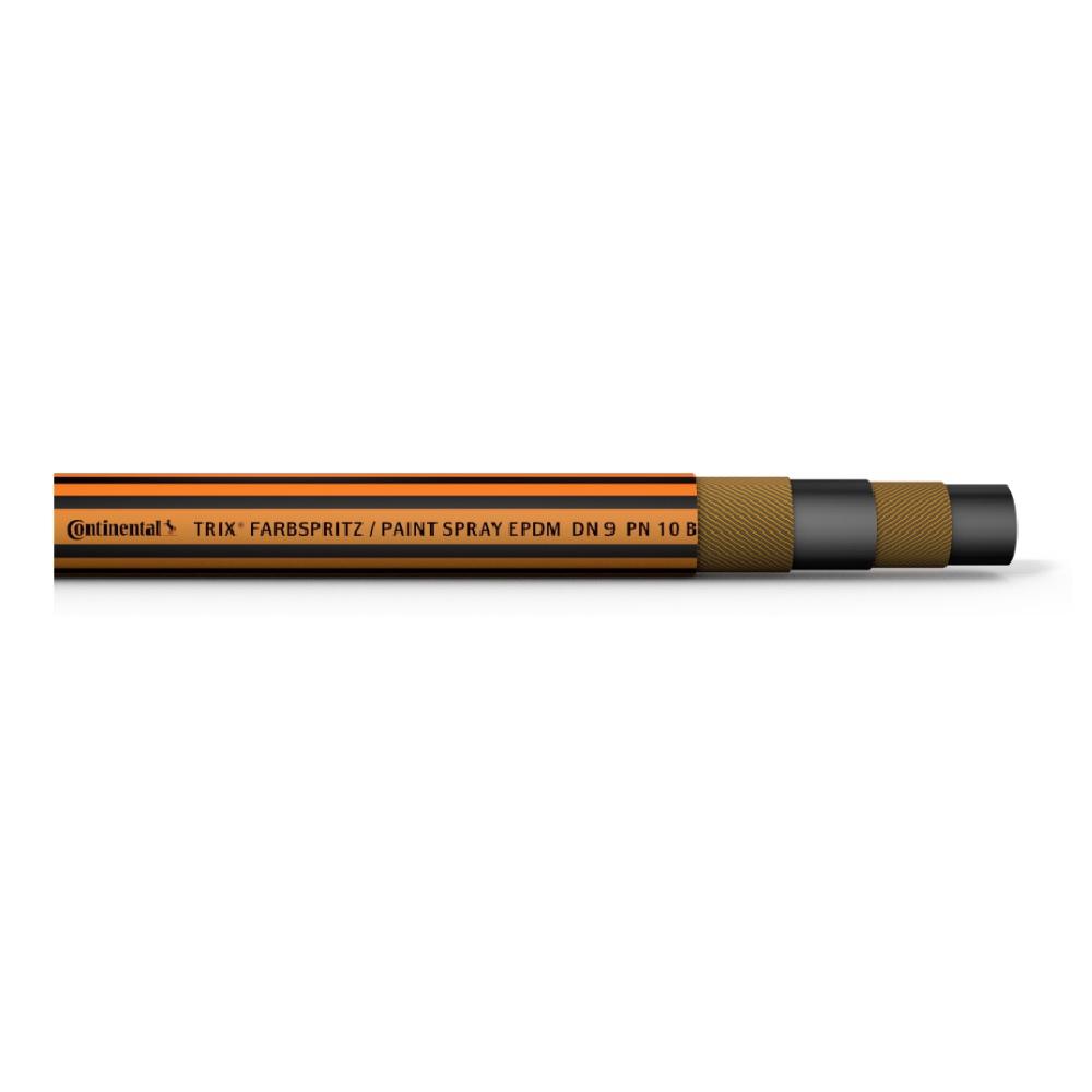 TRIX® farvesprayslange EPDM - indre Ø 9 mm - ydre Ø 16 mm - 10 bar