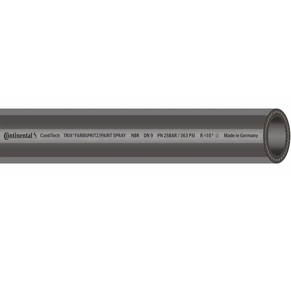 TRIX® Farbspritzschlauch NBR - Innen-Ø 6 bis 11 mm - Außen-Ø 13 bis 19 mm - 25 bar - 40 m -  Preis per Rolle