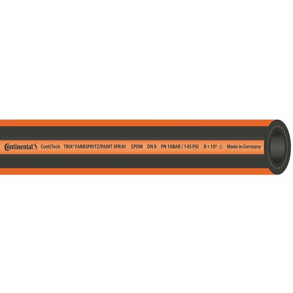 TRIX® Farbspritzschlauch EPDM - Innen-Ø 9 mm - Außen-Ø 16 mm - 10 bar - Preis per Set