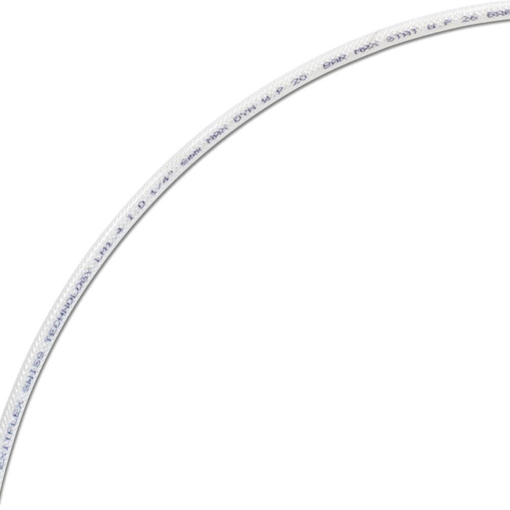 Lågtrycksslang - DN6 - PA-innerslang - 15 bar - transparent