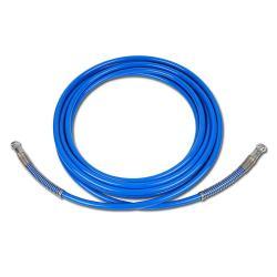 HD-Farbspritzschlauch PA - Anschlüsse 1/4″ - Innen-Ø 6,4 mm - Außen-Ø 13,5 mm - 270 bar - Preis per Stück - für WIWA, GRACO
