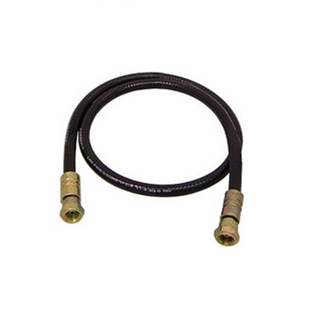 HD- Farbspritzschlauch - DN6 - Innen-Ø 6,4 mm - Außen-Ø 11,7 mm - 430 bar - 1/2x20 JIC -  Preis per Stück