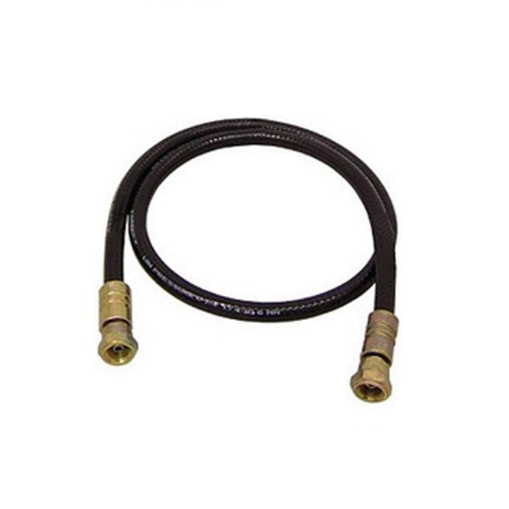 HD-Farbspritzschlauch DN6 - Innen-Ø 6,4 mm - Außen-Ø 13,8 mm - 600 bar - M16x1,5 - Preis per Stück