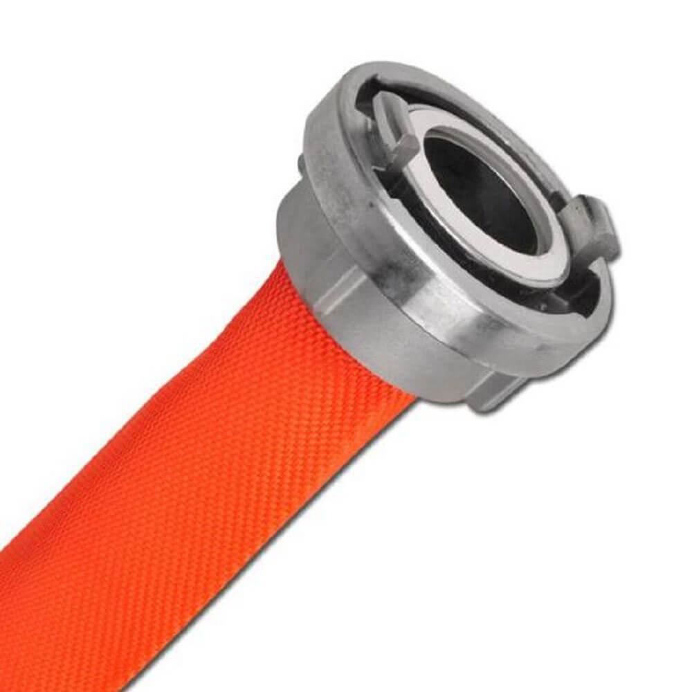 Feuerlöschschlauch Synthetic 3Z Reflex - Innen-Ø 42 bis 75 mm - Leuchtorange - WS 1,5 bis 1,7 mm - 16 bar - Preis per Rolle