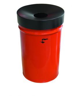 """Abfallbehälter """"Fire Ex"""" - Volumen ca. 60 Liter - feuerhemmend"""