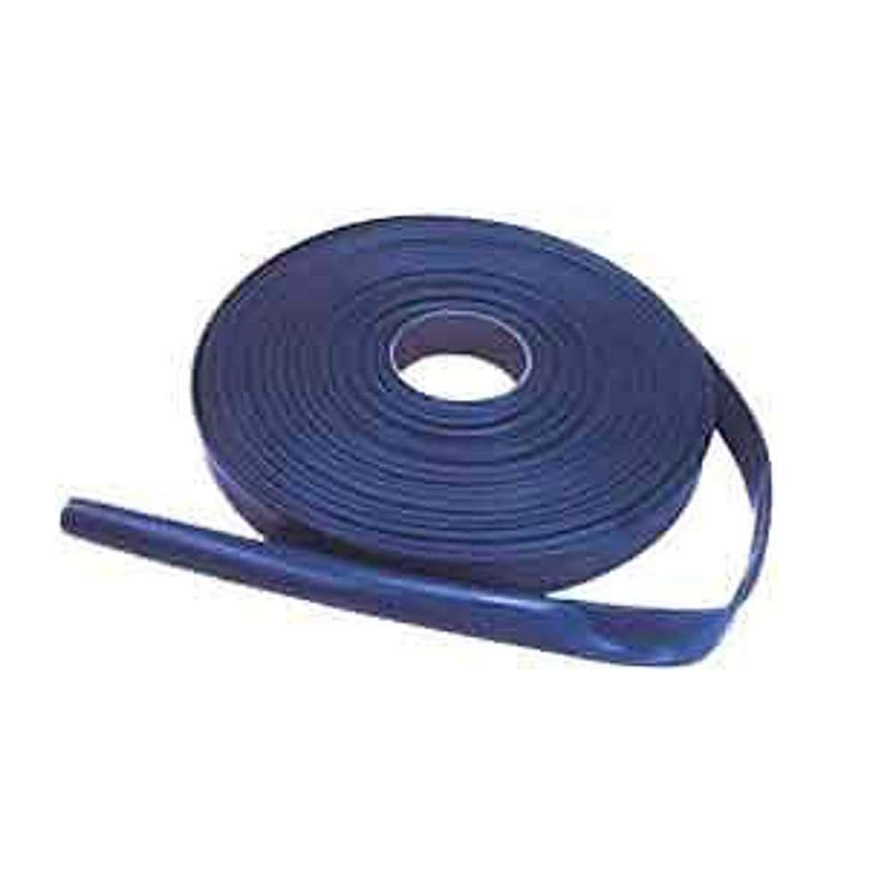 PVC-flatslang - Inner-Ø 32 till 203 mm - 2,5 till 7 bar - Blå - 50 m - Pris per rulle