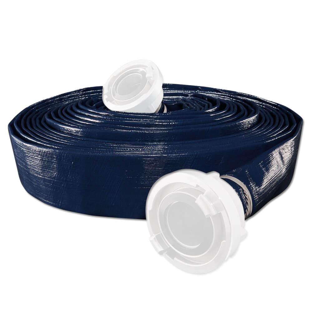 PVC-slang P-FLEX H - inuti Ø 203 till 254 mm - väggtjocklek 2,9 / 3 mm - 4/5 bar - utan anslutning - pris per rulla