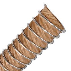 CP PTFE-INOX 475 FOOD - Klemmprofilschlauch - lebensmittelecht - Innen-Ø 50 bis 1000 mm - Außen-Ø 62 bis 1012 mm - Preis per Stück