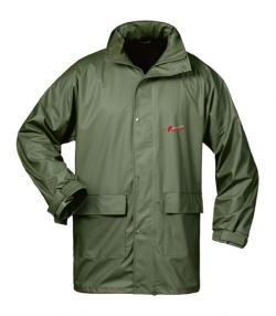 """FALKENBERG"" - PU Weatherproof Jacket - Olive Color"