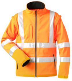 """Varseljacka """"TYLER"""" - 100% polyester - orange - EN 471"""
