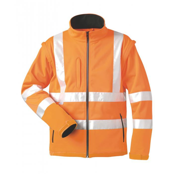 "Varseljacka ""TYLER"" - 100% polyester - orange - EN 471"