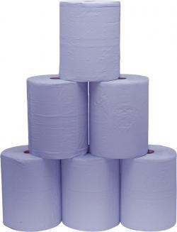Putzpapier - 3-Lagig - perforiert - 500 Blatt/Rolle