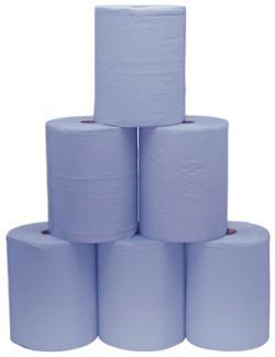 Putzpapier - 3-Lagig - perforiert - 1000 Blatt/Rolle