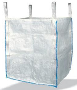 """Schüttgutbehälter 5:1 """"Big Bag"""" - Einfüllschürze PP - 90x90x110cm"""