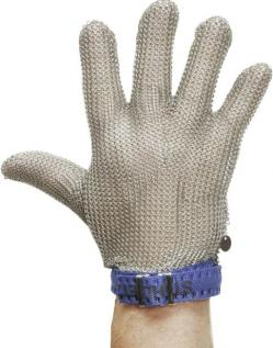 """Arbetshandskar med snittskydd - 5 fingrar """"vänster"""" - rostfritt stål"""