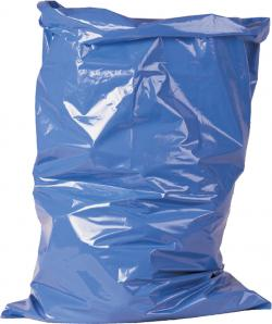 Waste Sacks 120 Liter - 700mm x 1100mm - Color Blue
