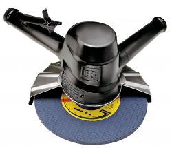 Industrie Druckluft Vertikalschleifer 99V, für 180 - 230 mm Schleifscheiben, 2,2