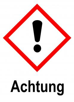 "GHS skylt - ""Varning"""