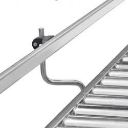 Seitenführung für Leicht- und Kleinrollenbahnen
