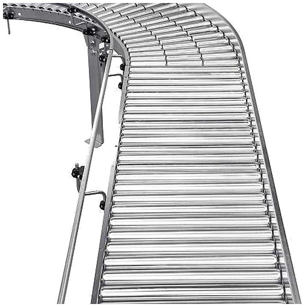 Rullbana - enkel - stålrullar - till 40 kg - rull-Ø 50 mm