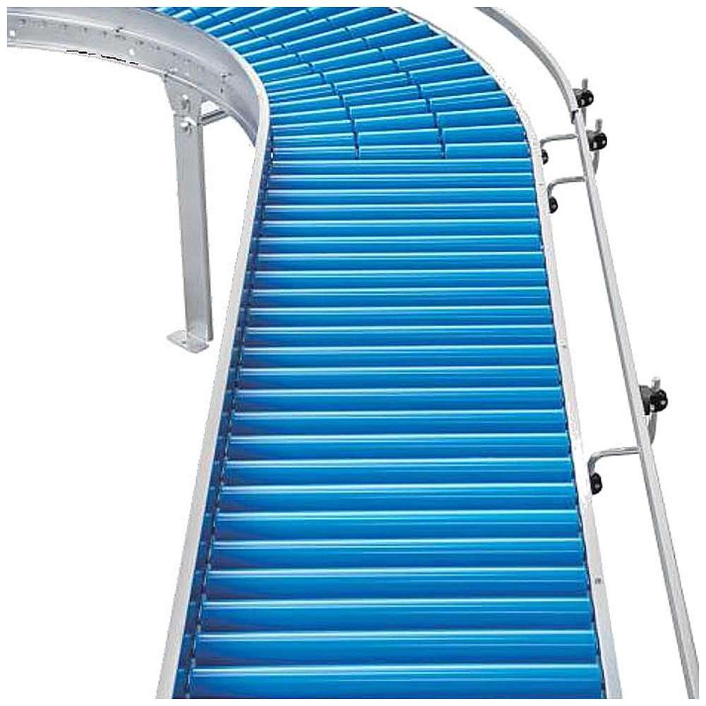 Rullbana - plastrullar - kapacitet upp till 25 kg - rull-Ø 50 mm