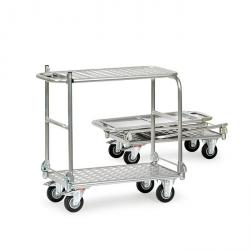 Folding Cart - ALU - supporting capacity 150 kg - Folding - With platform