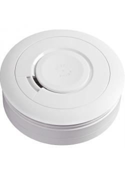 Rauchwarnmelder Ei605 - Kunststoff - 9-Volt Batterie - Farbe weiß
