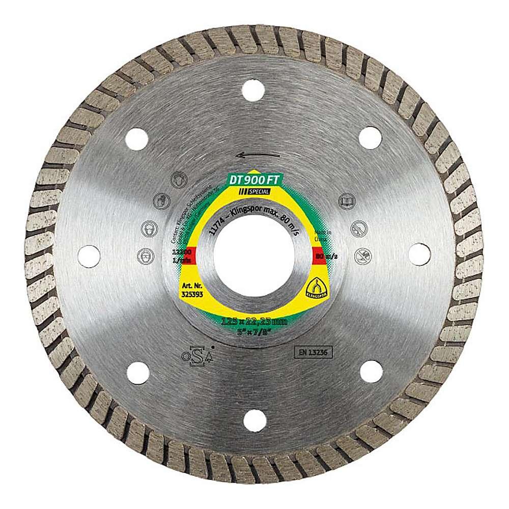 Diamantklinga - DT 900 FT - Sluten kant Turbo
