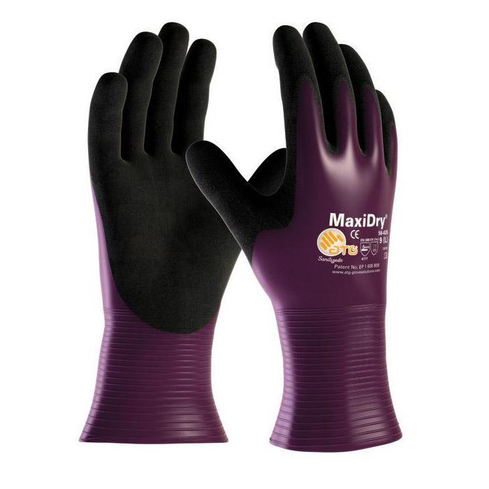 MaxiDry® - Nitril-Handschuhe - vollbeschichtet - PSA-Kategorie III - Preis per Paar