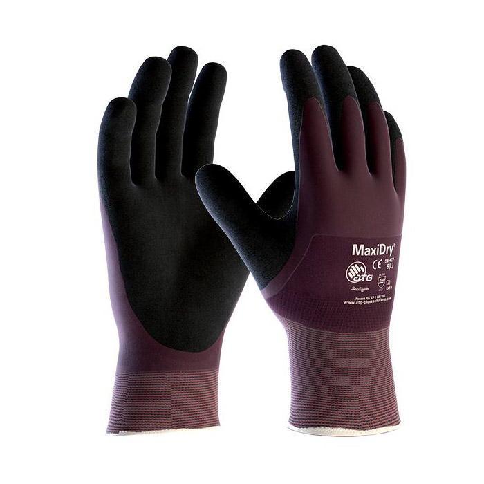 MaxiDry® - Nitril-Handschuhe - vollbeschichtet