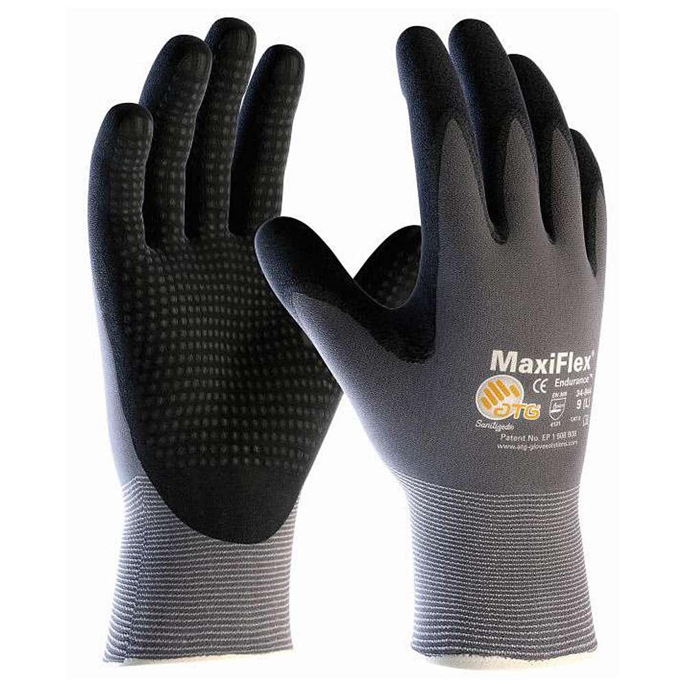 Nylonhandskar - med noppor - pris per par - MaxiFlex® Endurance™