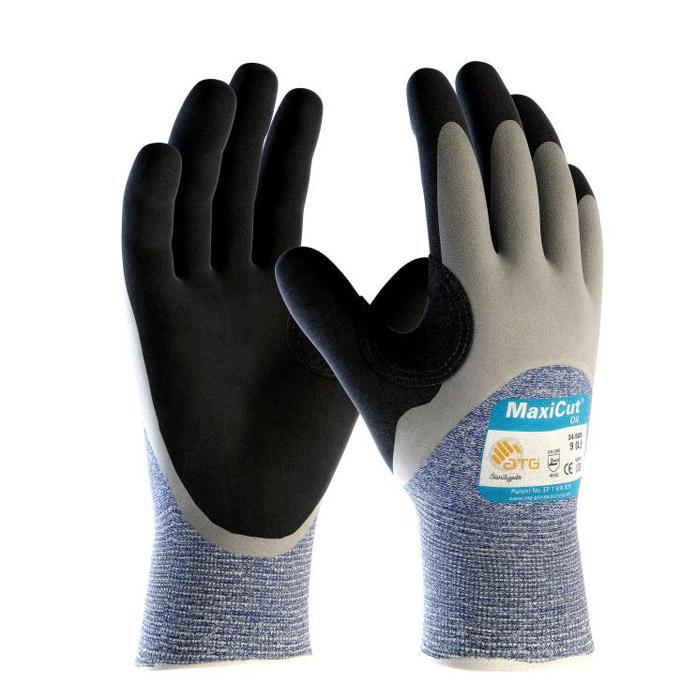 MaxiCut® Oil™ - Schnittschutz-Strickhandschuhe - Klasse 5 - Preis per Paar